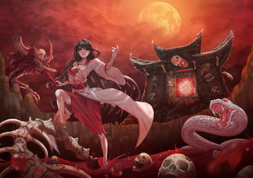 Izanami  The goddess of creation and of death