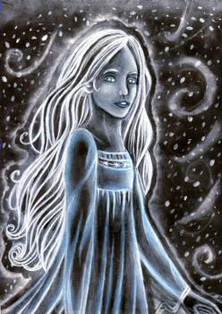 Spirit in the snowstorm