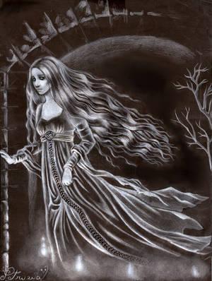 The white lady by DreamyNaria