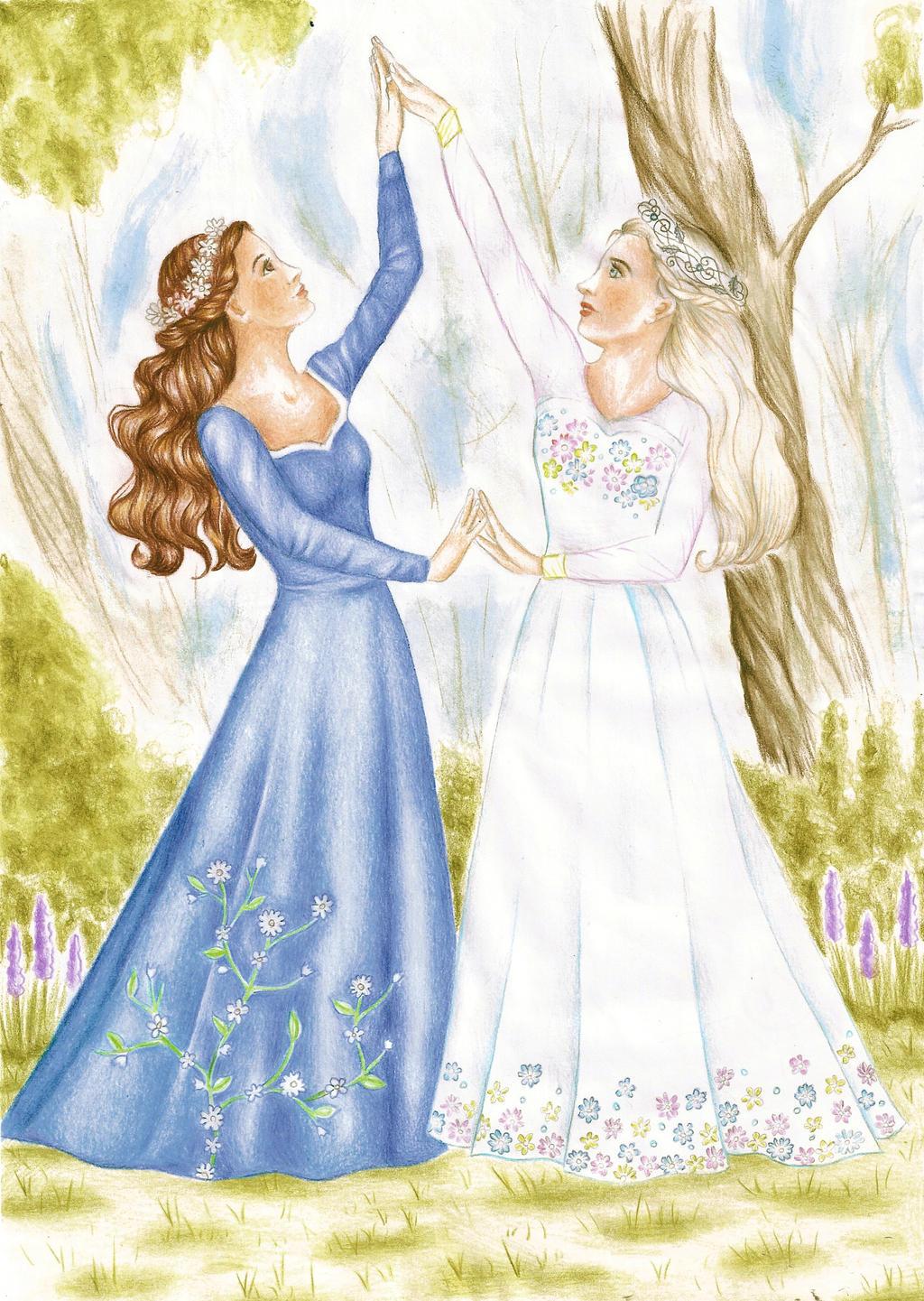 Alice and Jenny by DreamyNaria
