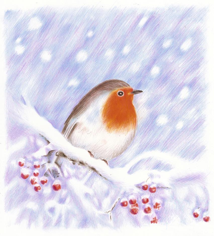 The snowfall is so silent by DreamyNaria