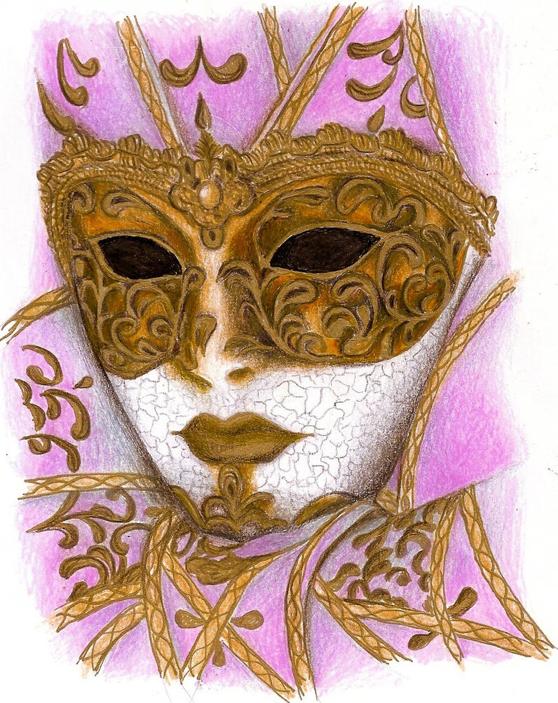 Venetian mask by DreamyNaria