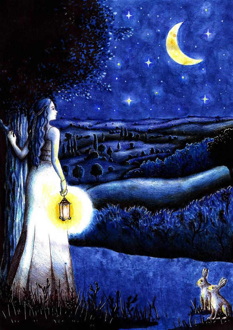 The splendor of the night. by DreamyNaria
