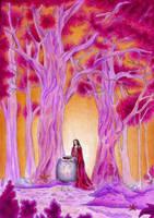 The priestess by DreamyNaria