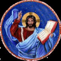 Jesus pantocrator by DreamyNaria
