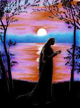 Poetic sunset