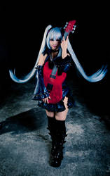 Hagane Vocaloid: Center Stage by Astellecia