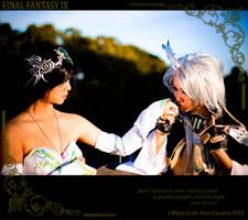 FFIX Kuja: Be my Canary by Astellecia