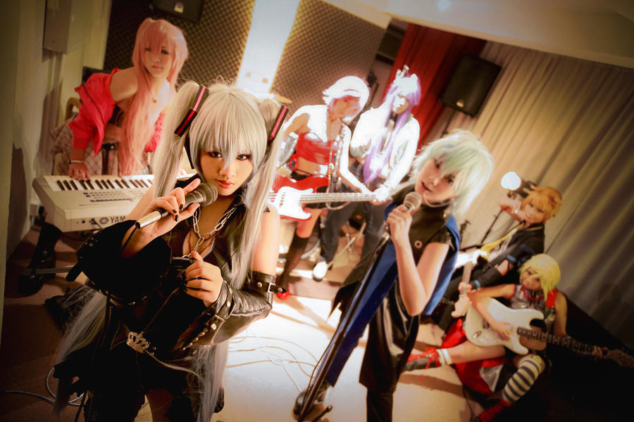 Cosplays~ Hagane_vocaloid__peace_out_by_astellecia-d47kyx9