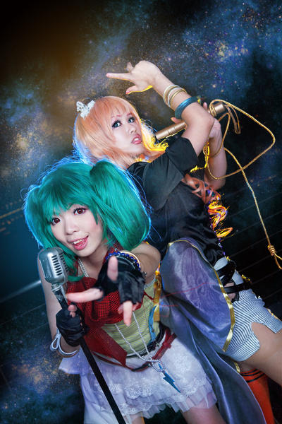 Macross Crossover: Frontier Divas by Astellecia