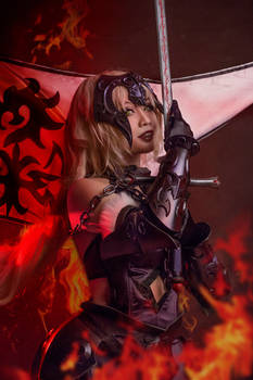 Fate Grand Order: Reborn in flame