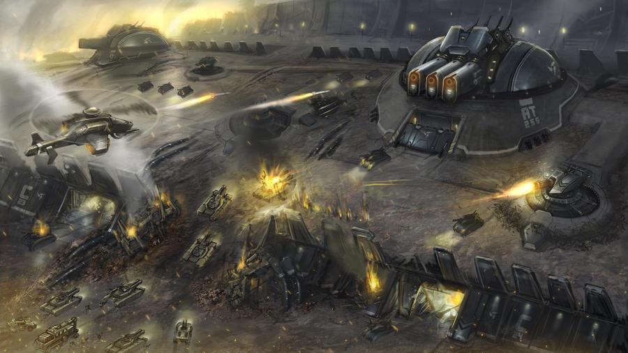 Acropolis Wall Fight by kianchai
