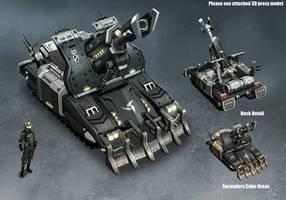 Enemy Light Artillery by kianchai