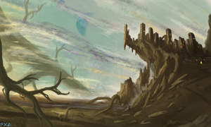 Roots of the Kingdom - Landscape Painting