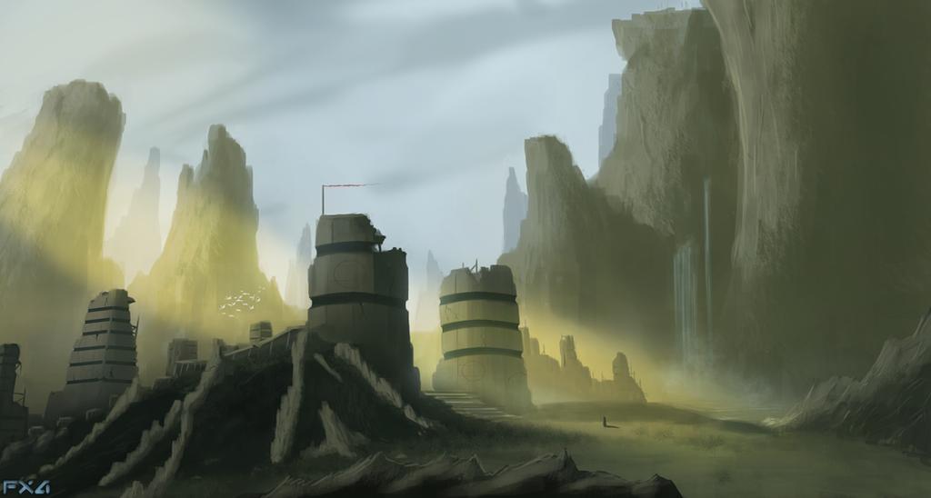 Once a Metropolis by FrankAtt