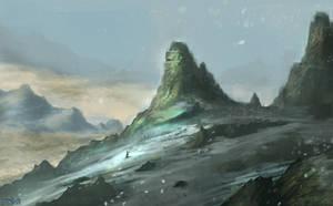 Snow Landscape by FrankAtt