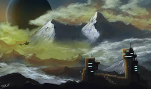 Planet Base by FrankAtt