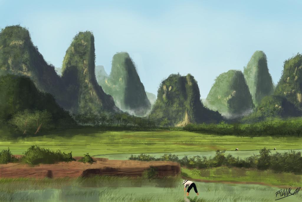 landscape study by FrankAtt