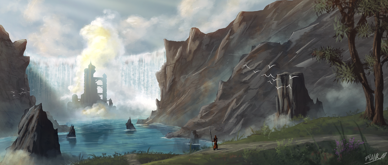 Where The River Falls by FrankAtt
