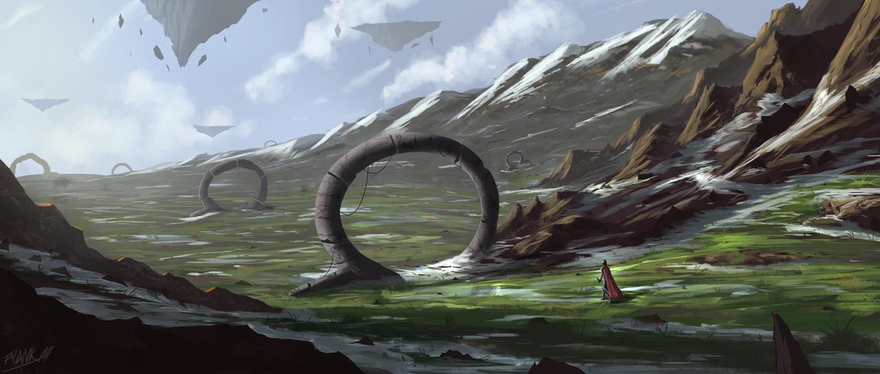 Old Circles by FrankAtt
