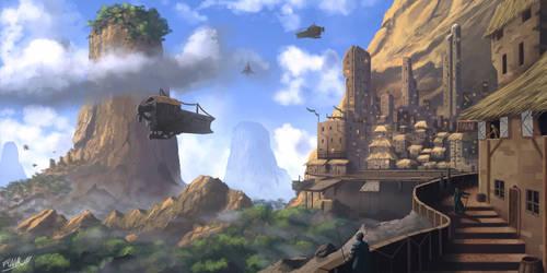 Port to the World by FrankAtt