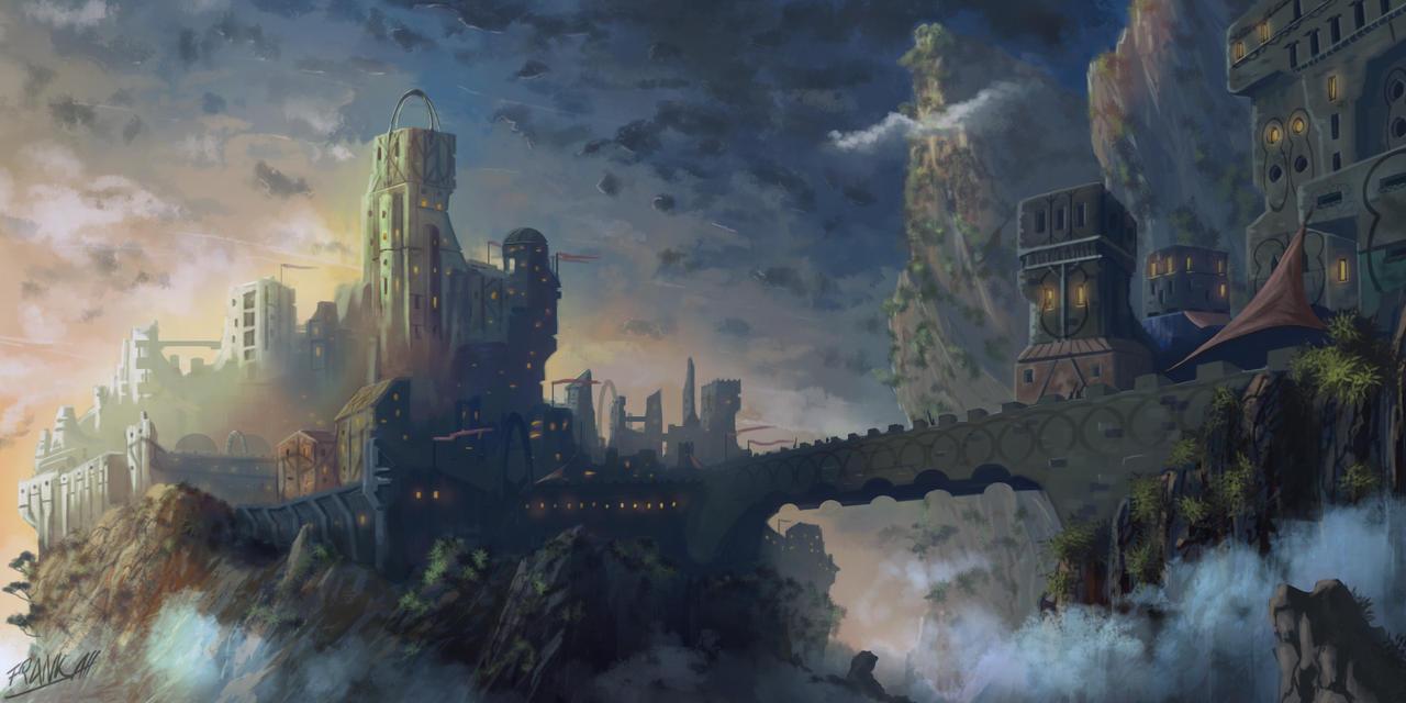 Castle Of Veron by FrankAtt