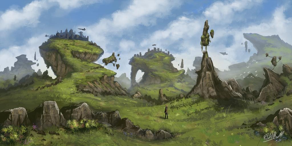 Plateaus by FrankAtt