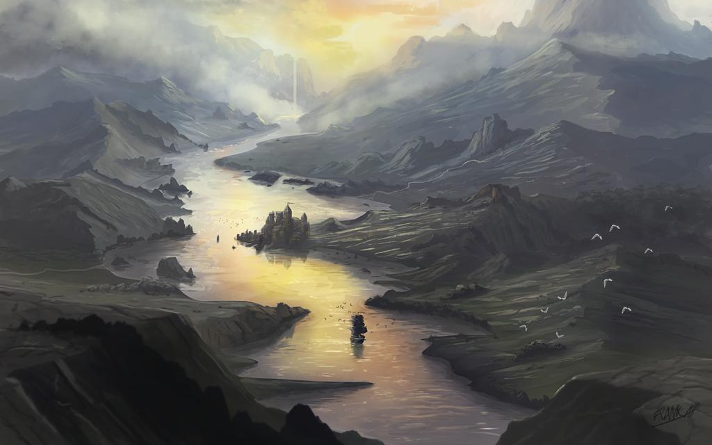 Along The River by FrankAtt