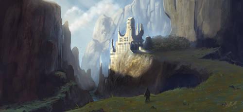 The Hidden Monastery by FrankAtt