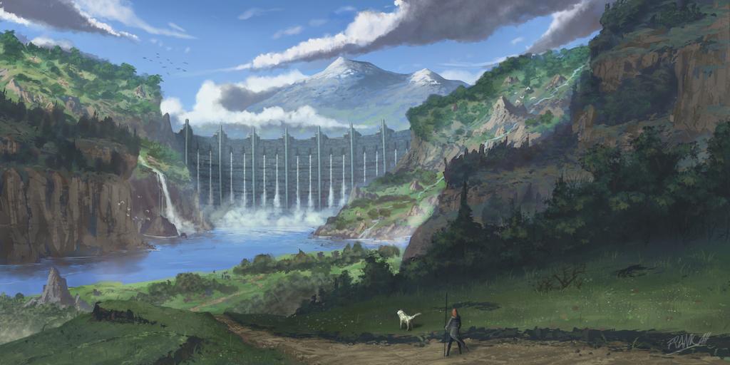 The Kings Dam by FrankAtt