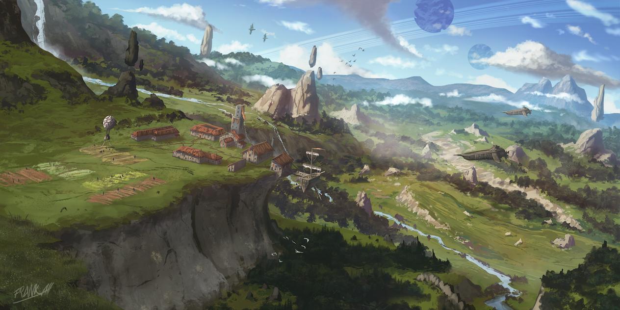 New Homeland by FrankAtt