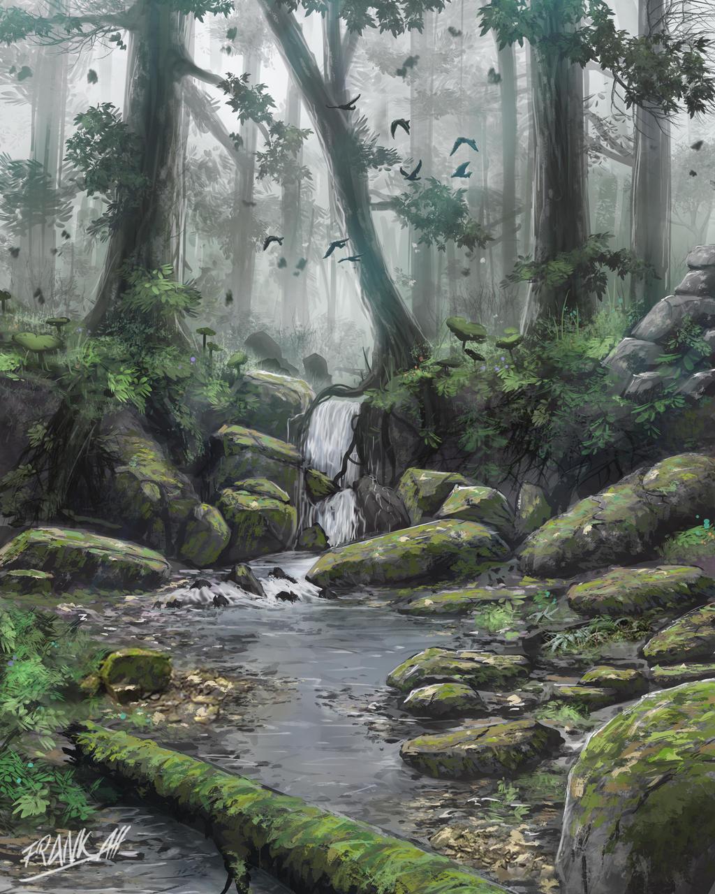 La dormeuse du val [Libre] Somewhere_in_the_undergrowth_by_frankatt-d93zhih