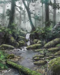 Somewhere In The Undergrowth by FrankAtt