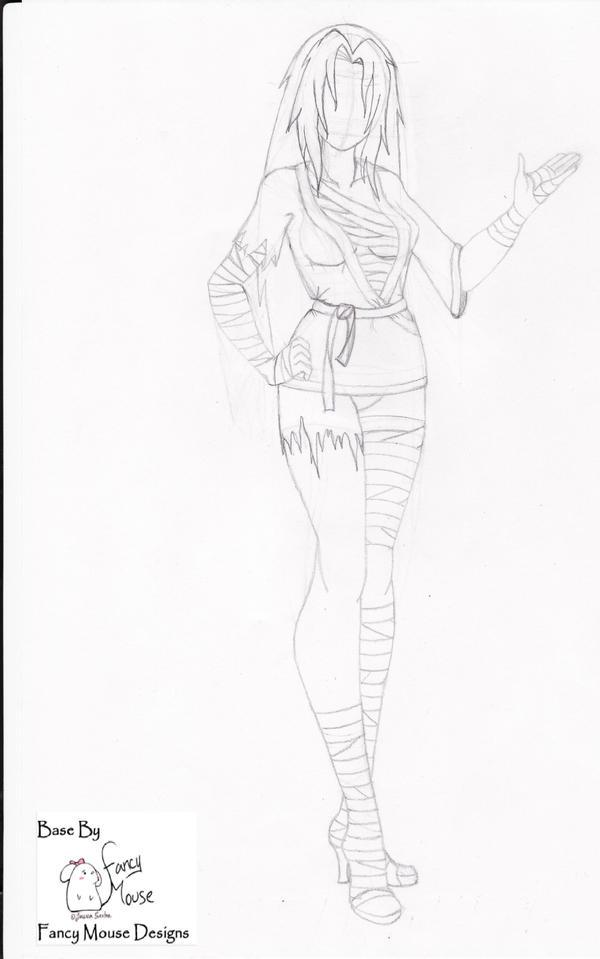 Line Art Body : Line art body by schmalicey on deviantart
