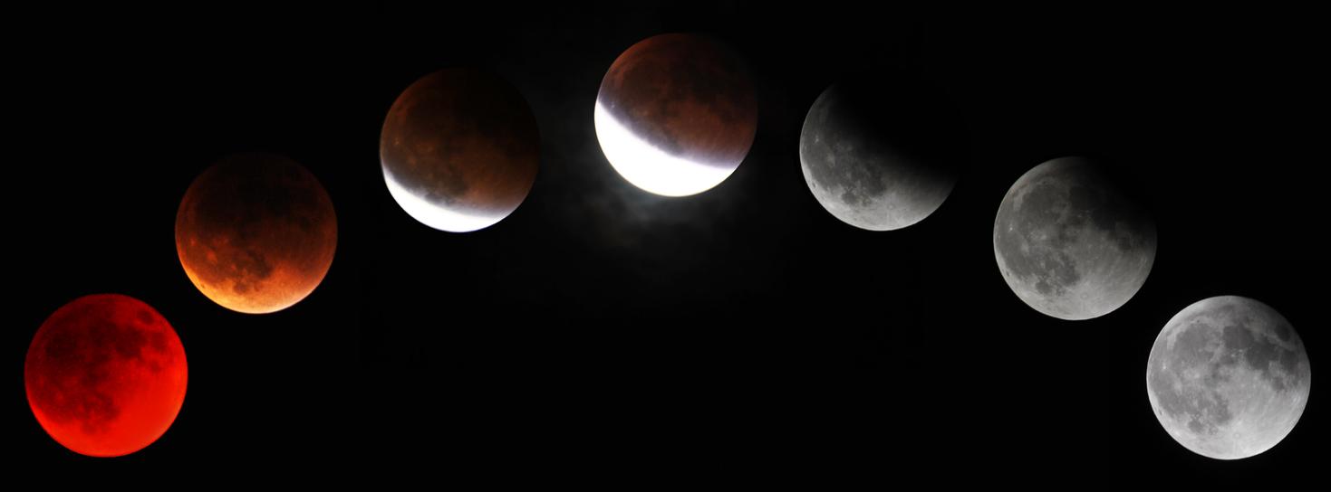 Super Blood Moon Eclipse by fosspathei