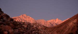Mount Whitney at Dawn