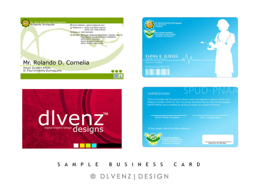 Business Card Sample by dlvenz on DeviantArt