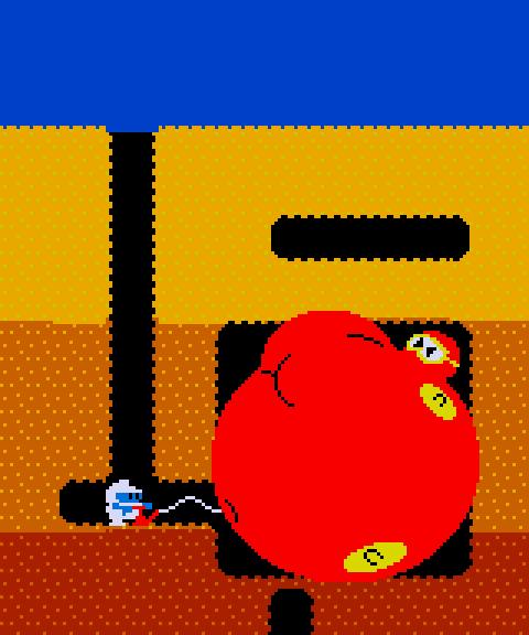 Pooka (PAC-MAN / Dig Dug) by CHEEZN64X on DeviantArt
