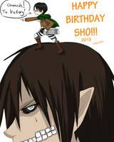 [Gift Pic] Happy Birthday Shortpencil by Juuria66