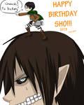 [Gift Pic] Happy Birthday Shortpencil