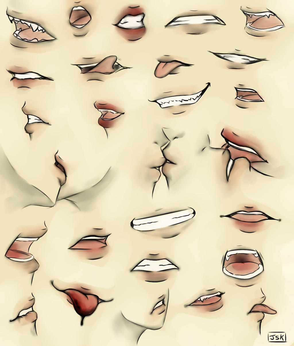 Mouth Practice by Juuria66