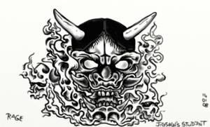Evil Hannya Demon