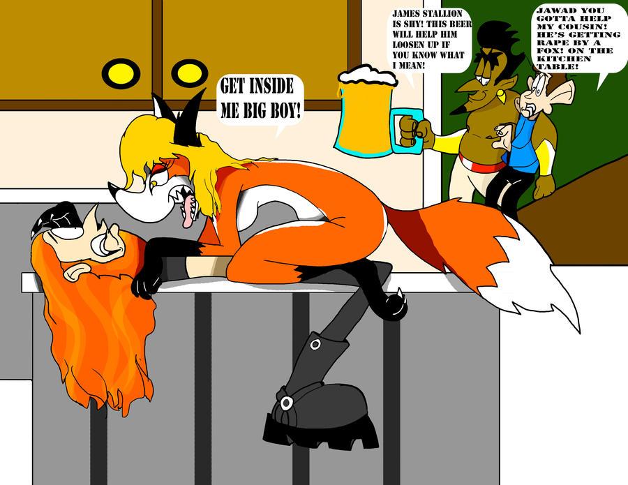 A Fox In The Kitchen By Jamesaragonastudios On DeviantArt