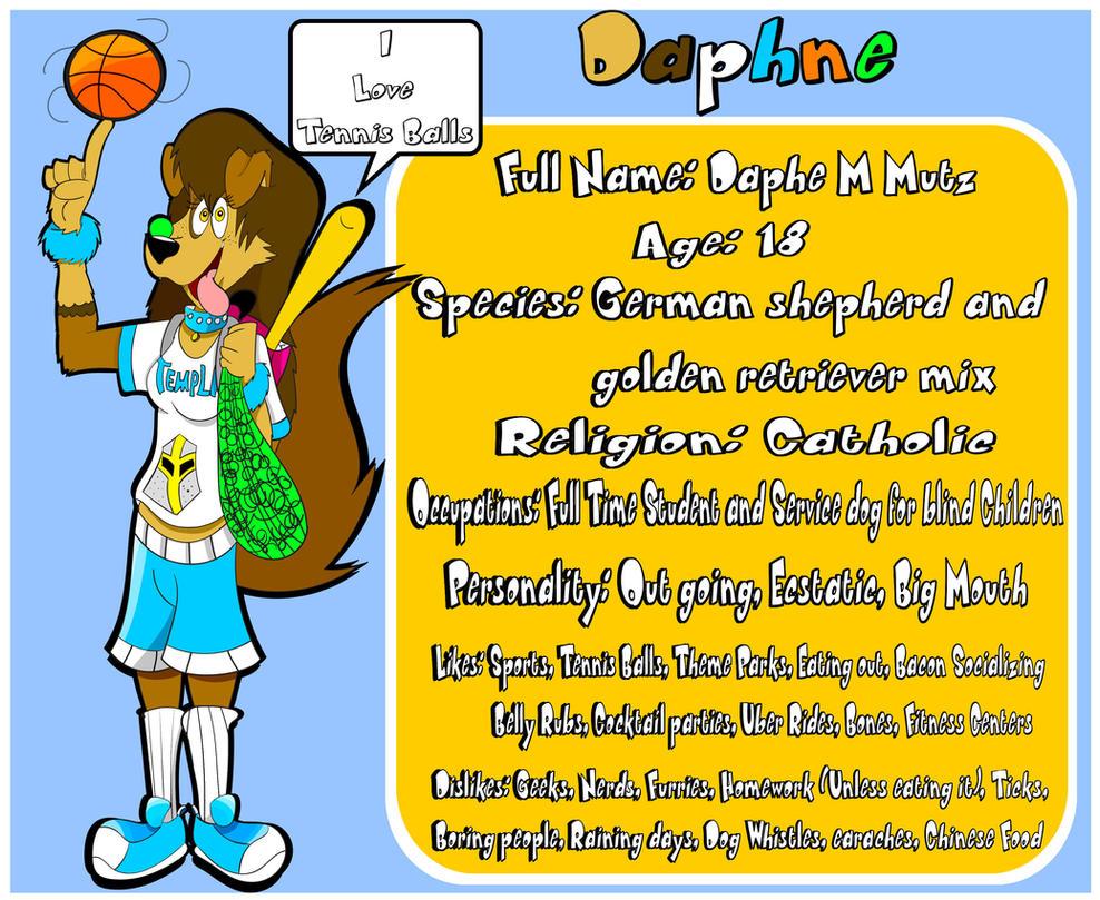 Daphne M. Mutz Bio by Jamesaragonastudios