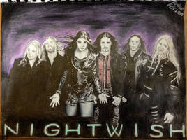 Nightwish by WhatToDrawNext