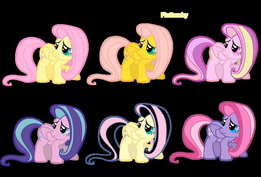 My Little Pony Color Palette