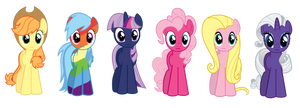 I Accidentally the Ponies