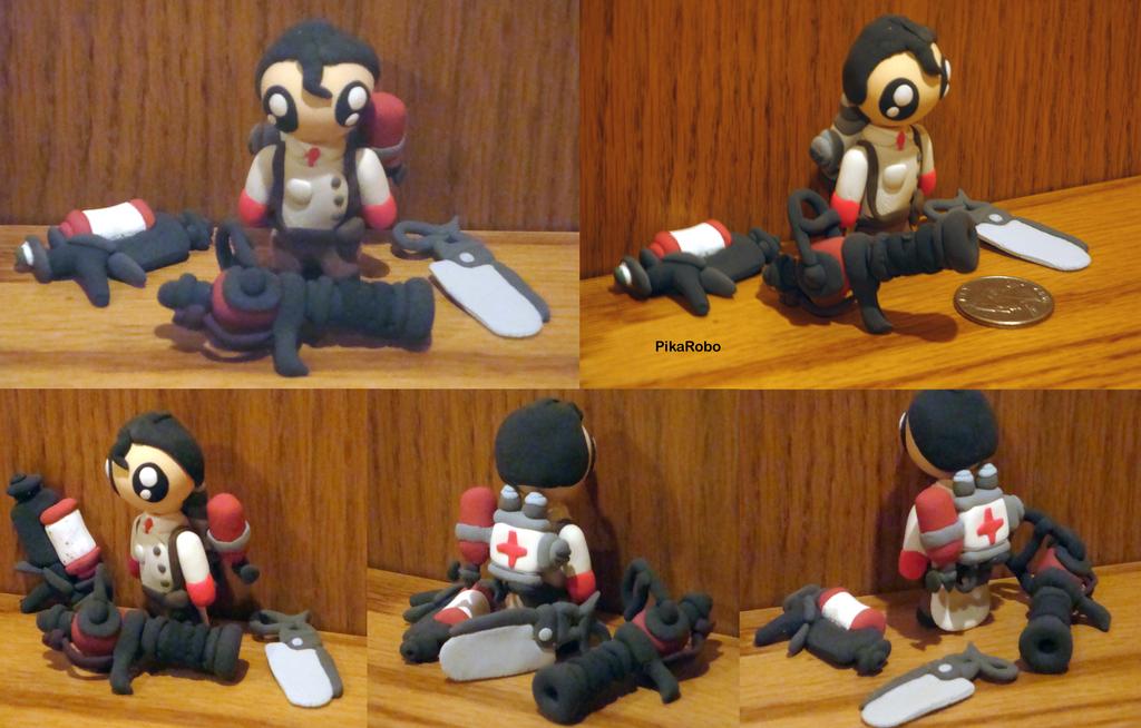 Chibi Medic RED by Pika-Robo