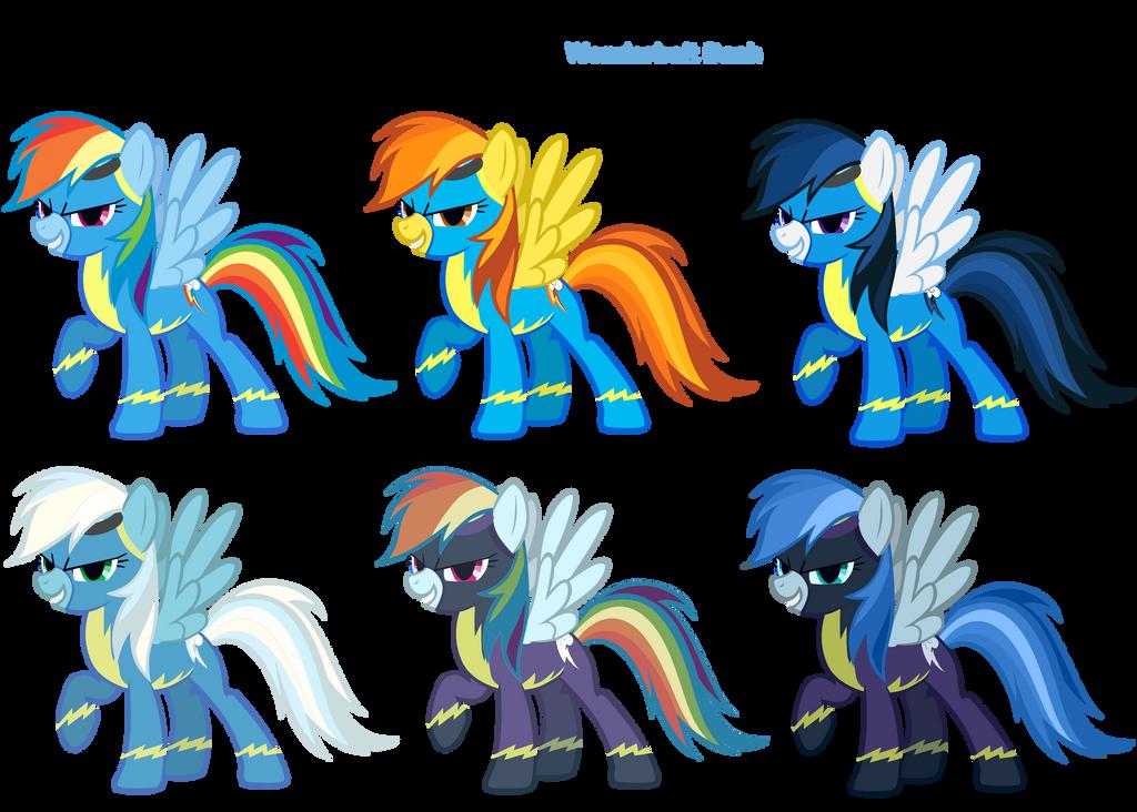 FiM Costumes: Wonderbolt Dash by Pika-Robo