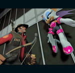 Rival Battle: Rouge vs Sniper